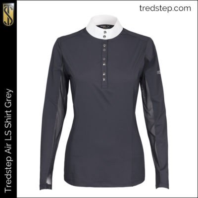 Tredstep Air Shirt Long Sleeve Grey