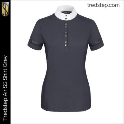 Tredstep Air Shirt Short Sleeve Grey