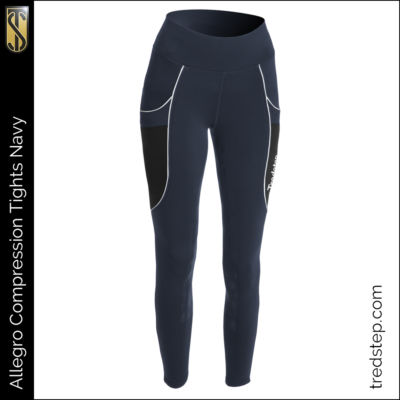 The Tredstep Allegro Compression Tights Navy