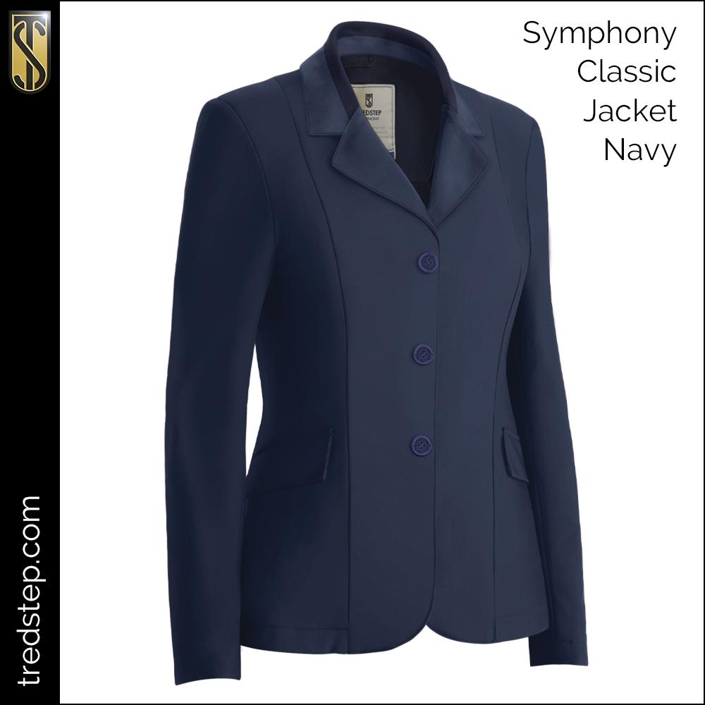 Symphony Classic Coat Navy