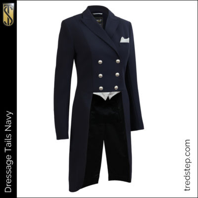 The Tredstep Dressage Tails Jacket Navy