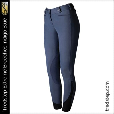 The Tredstep Extreme Knee Patch Indigo Blue