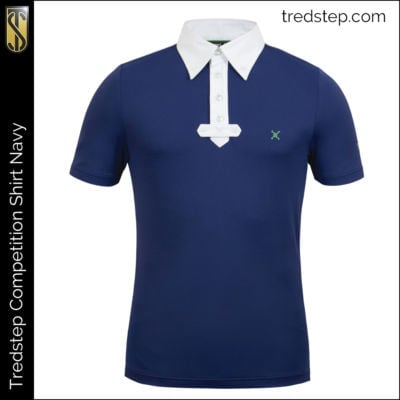 Tredstep Gents Competition Shirt Navy