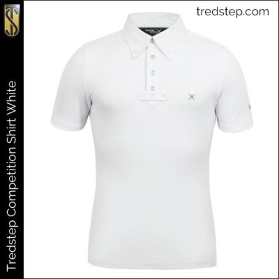 Tredstep Gents Competition Shirt White