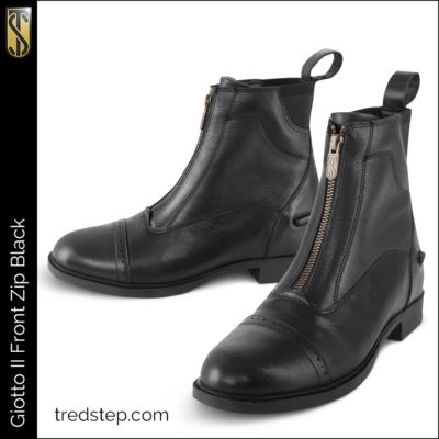The Tredstep Giotto II Front Zip Black