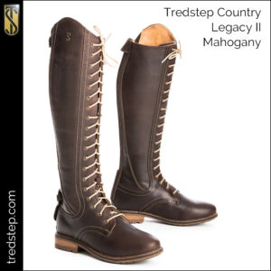 The Tredstep Legacy II Country Boots Mahogany