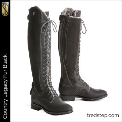 The Tredstep Legacy Fur Country Boot Black