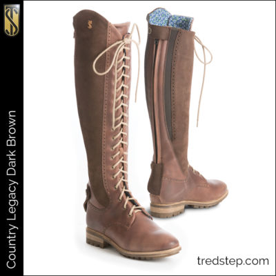 The Tredstep Legacy Country Boots Dark Brown
