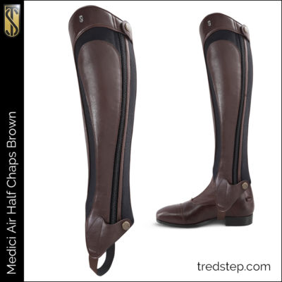 The Tredstep Medici Air Half Chap Brown