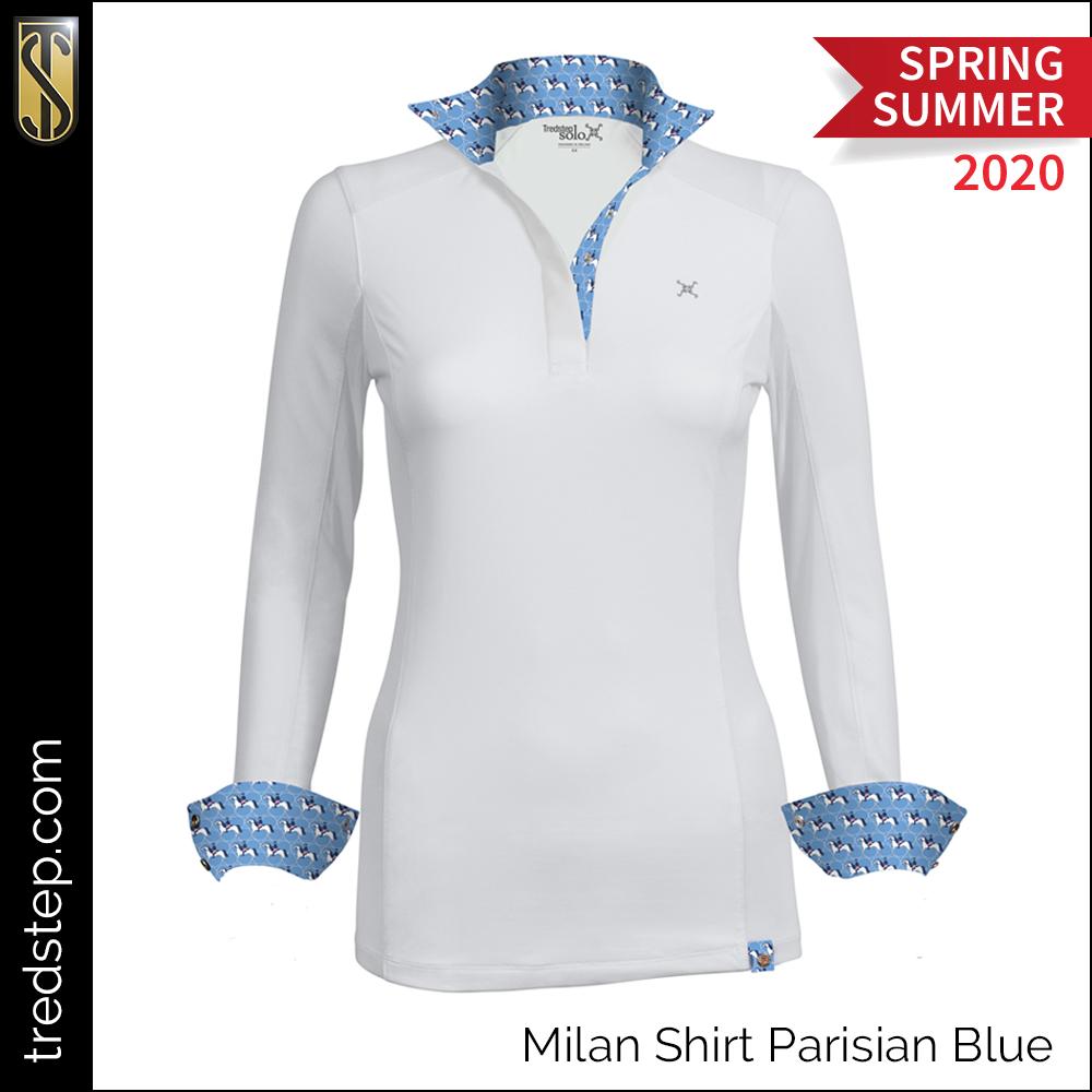 Tredstep Milan Shirt Parisian Blue