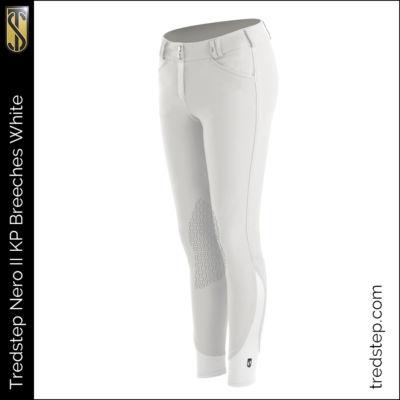The Tredstep Nero II Knee Patch Breeches White