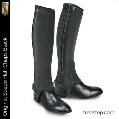The Tredstep Original Half Chap Black