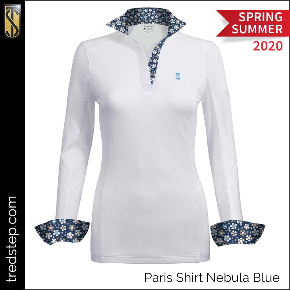 Tredstep Paris Shirt Nebula Blue