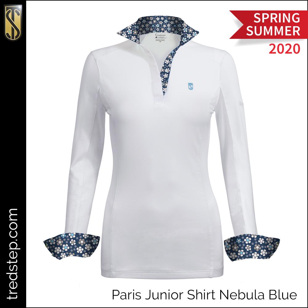 Tredstep Paris Junior Shirt Nebula Blue
