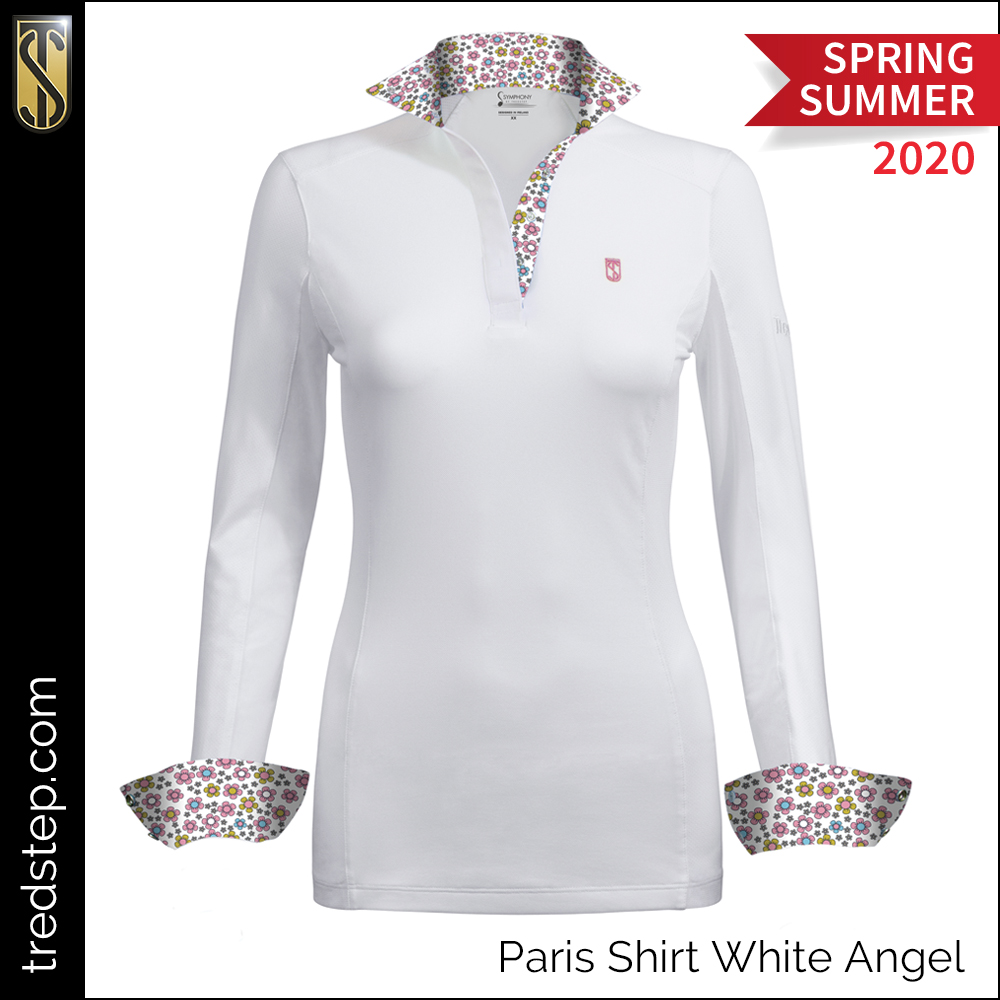 Tredstep Paris Shirt White Angel