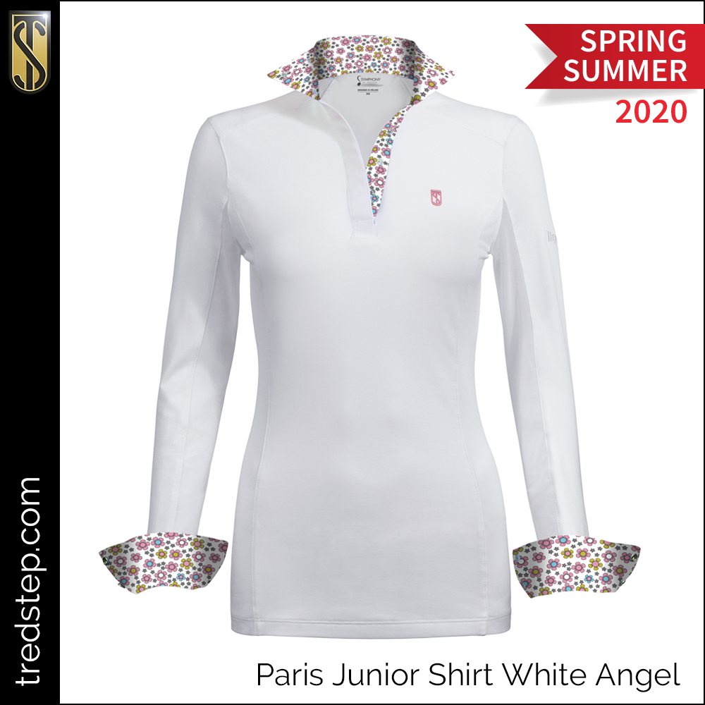Tredstep Paris Junior Shirt White Angel