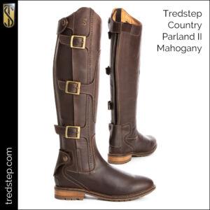 The Tredstep Parkland II Country Boots Mahogany