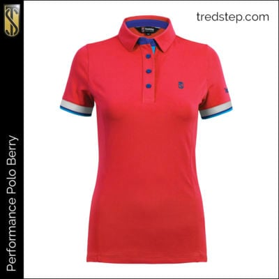 Tredstep Performance Polo Berry