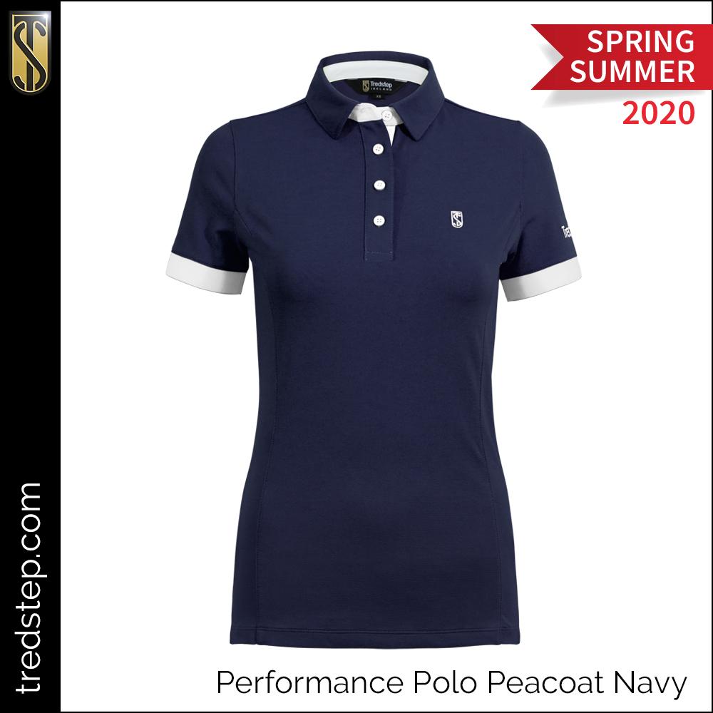 Tredstep Performance Polo Peacoat Navy