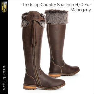 The Tredstep Shannon H2O Fur Country Boots Mahogany