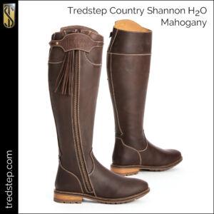 The Tredstep Shannon H2O Country Boots Mahogany