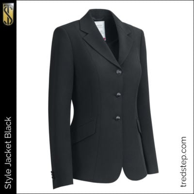 The Tredstep Style Jacket Black
