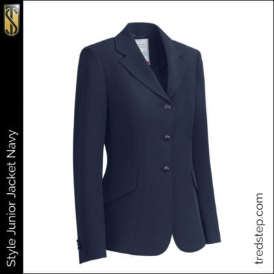 The Tredstep Style Junior Jacket Navy