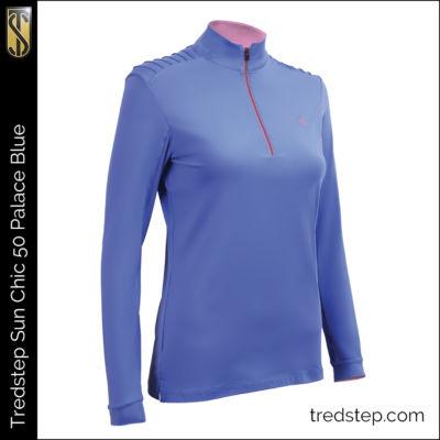 Tredstep Sun Chic 50 Shirt Palace Blue