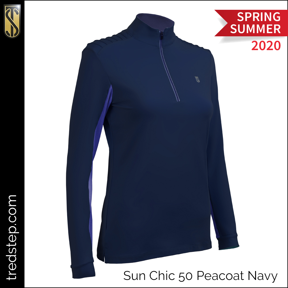Tredstep Sun Chic 50 Shirt Peacoat Navy