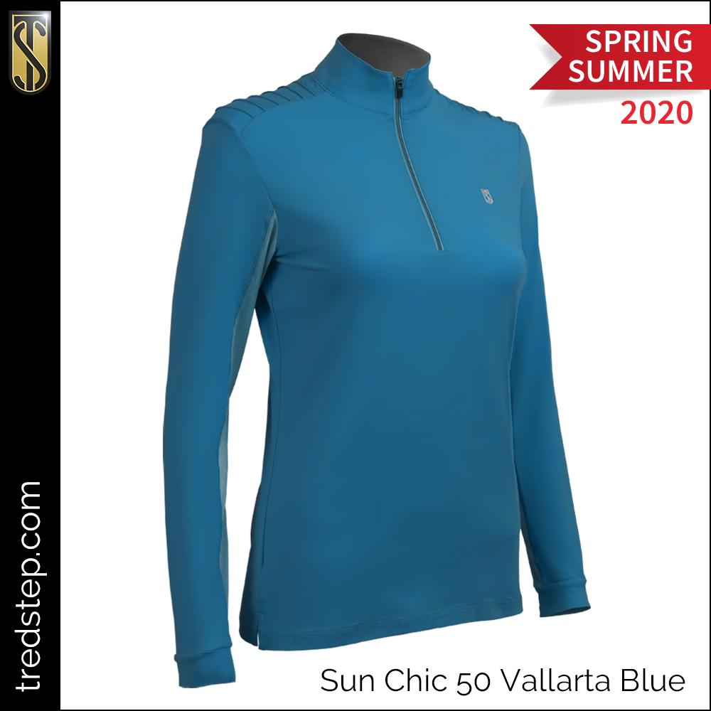 Tredstep Sun Chic 50 Shirt Vallarta Blue