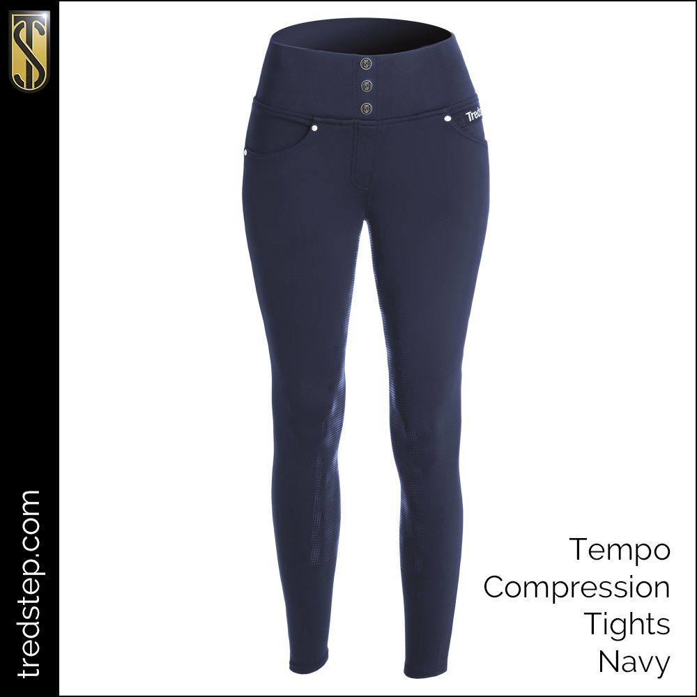 The Tredstep Tempo Compression Tights Navy