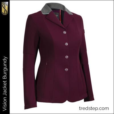 The Tredstep Vision Jacket Burgundy